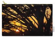 Sunset In The Trees Carry-all Pouch