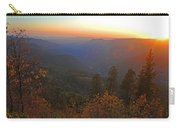 Sunset In Yosemite Carry-all Pouch