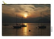 Sunset Lake Maggiore Carry-all Pouch