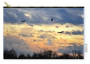 Sunset Of The Hawks Carry-all Pouch