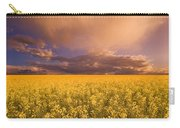 Sunset On A Canola Field Carry-all Pouch