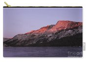 Sunset On Frozen Tenaya Lake Carry-all Pouch