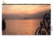 Sunset On Lake Como Carry-all Pouch