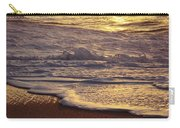 Sunset On Small Wave Carry-all Pouch