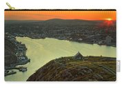 Sunset On St. John's Harbour Carry-all Pouch