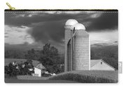 Sunset On The Farm Bw Carry-all Pouch