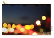 Sunset On The Golden Gate Bridge Carry-all Pouch by Linda Woods