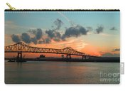 Sunset On The Mississippi  Carry-all Pouch