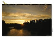 Sunset On The Rogue River Carry-all Pouch