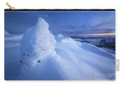 Sunset On The Summit Toviktinden Carry-all Pouch by Arild Heitmann