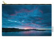 Sunset Over A River  Carry-all Pouch
