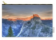 Sunset Over Half Dome Carry-all Pouch
