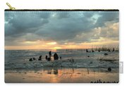 Sunset Over Lake Pontchartrain Carry-all Pouch