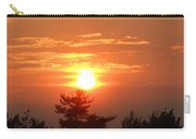 Sunset Over Maine Carry-all Pouch