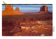 Sunset Over Monument Valley Carry-all Pouch