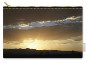 Sunset Over Mt Charleston Carry-all Pouch