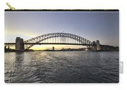 Sunset Over Sydney Harbor Bridge Carry-all Pouch
