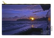 Sunset Over The Adriatic Carry-all Pouch
