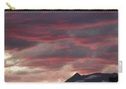 Sunset Over The Colorado Rocky Mountain Continental Divide Carry-all Pouch