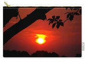 Sunset Over The Golf Course Carry-all Pouch