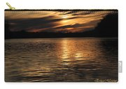 Sunset Over The Lake - 3rd Place Win Carry-all Pouch