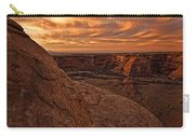 Sunset Over The Rim Of Canyon De Carry-all Pouch