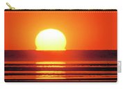 Sunset Over Tidal Flats Carry-all Pouch