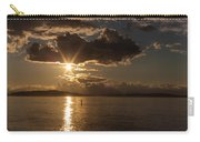 Sunset Paddleboarder Carry-all Pouch