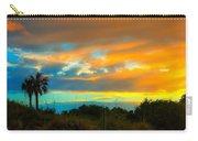 Sunset Palm Folly Beach  Carry-all Pouch
