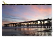 Sunset Pier San Simeon California 1 Carry-all Pouch