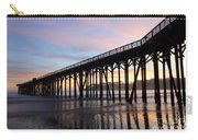 Sunset Pier San Simeon California 2 Carry-all Pouch