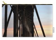 Sunset Pier California 3 Carry-all Pouch