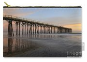 Sunset Pier  California 5 Carry-all Pouch