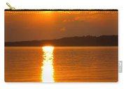 sunset Samsoe island Denmark Carry-all Pouch