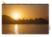 sunset Santa Barbara Carry-all Pouch