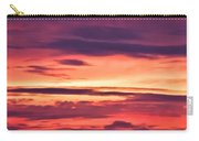Sunset Skyscape Carry-all Pouch
