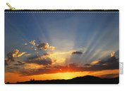 Sunset Sun Rays Carry-all Pouch