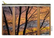 Sunset Window View Carry-all Pouch