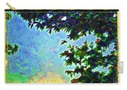 Sunset With Leaves Carry-all Pouch