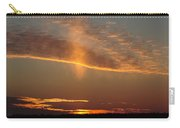 Sunset With Mist Carry-all Pouch