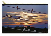 Sunsets And Birds Carry-all Pouch