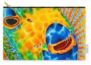 Sunshine Angelfish Carry-all Pouch by Daniel Jean-Baptiste