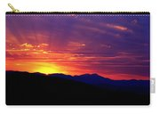 Sunshine Mountain Range Carry-all Pouch
