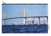 Sunshine Skyway Bridge II Carry-all Pouch