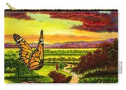 Sunshine Traveler-monarch Carry-all Pouch