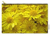 Sunshine Yellow Chrysanthemums Carry-all Pouch