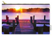 Sunup Over Rock Creek Carry-all Pouch