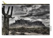 Superstition Saguaro  Carry-all Pouch