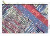 Surface Of Integrated Chip Carry-all Pouch by Michael W. Davidson