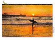 Surfer Silhouette Carry-all Pouch